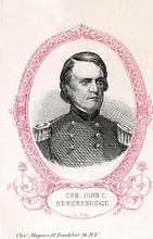 95x111.1 - General John C. Breckenridge C. S. A., Civil War Portraits from Winterthur's Magnus Collection